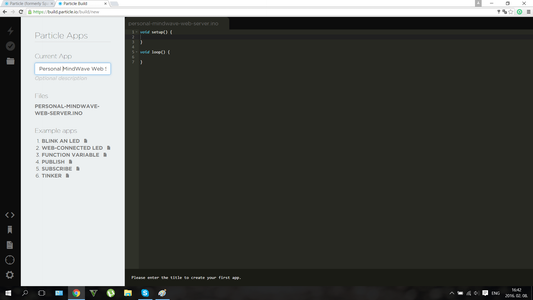 Coding in Browser