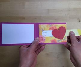 Slider Heart Card