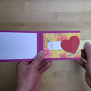 Slider Heart Card