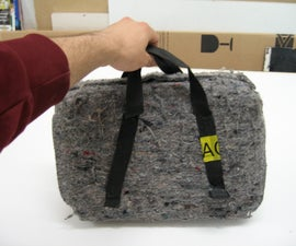 laptop cheap strong travel case, homeless style - expensive content