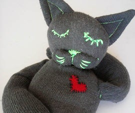 Microwaveable Sock Creature