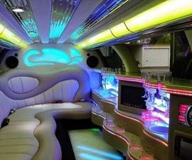 ESP8266 Controlled Stretch Limousine