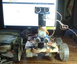 Self Obstacle Avoiding Robot