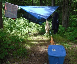 My Awesome Backpacking Camp Setup/ Checklist!