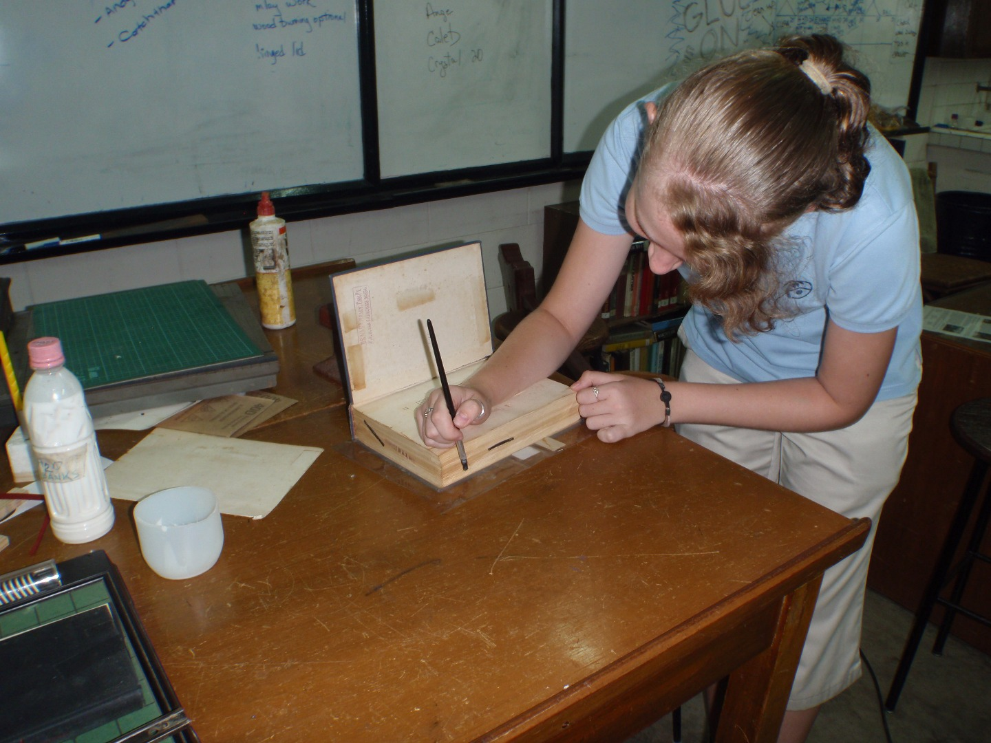 Picture of Gluing the Pages