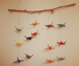 Origami Crane/ Bird Mobile