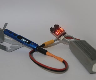 LiPo Drone Batteries Reuse: Project 1 - Portable Power for Soldering Iron