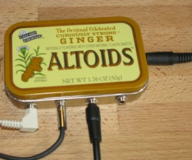 "Altoids Tin 1/8"" Stereo Mixer"