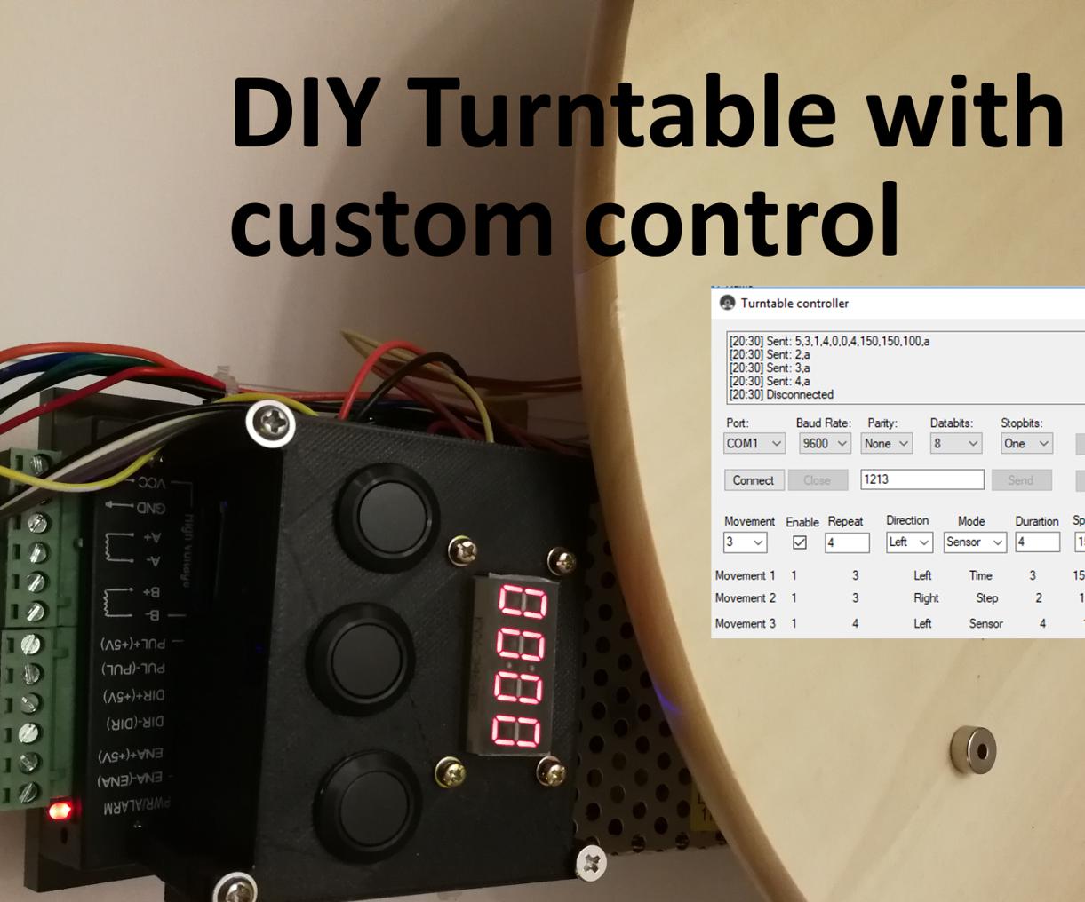 QnA VBage DIY Turntable With Custom Control