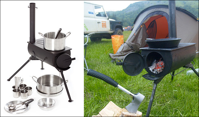 Picture of Make a Frontier Stove From a Gas Bottle