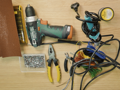 Preparation. Tools Screws and Consumables.