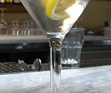 Step by step guide for a Vesper Martini