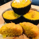 *Gluten Free* Sweet Potato Corn Muffins!