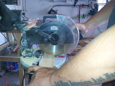 Cutting and Sanding