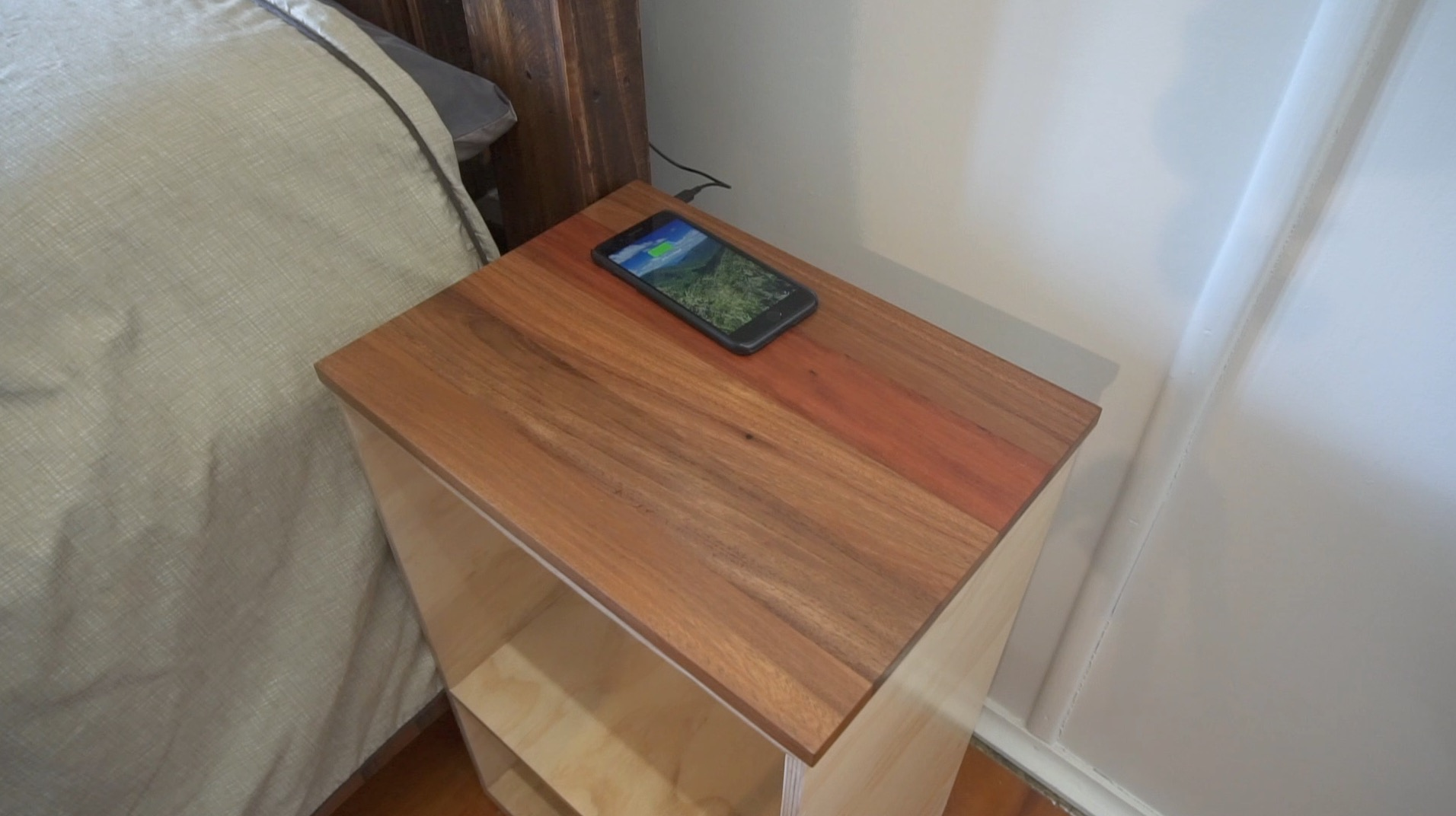 Picture of Wireless Charging Bedside Table