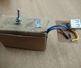 Mini DIY Emergency Light With a 5v USB Charging
