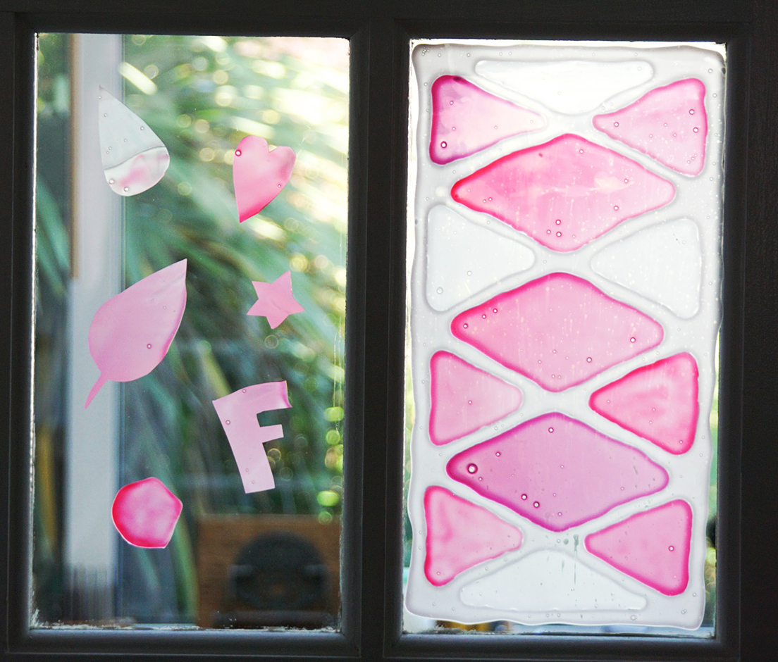 Picture of DIY Window Clings | How to Make Your Own Glass Decorations With PVA Glue! | Fun Children's Activity