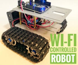 Wi-Fi Controlled Robot Using Wemos D1 ESP8266, Arduino IDE and Blynk App