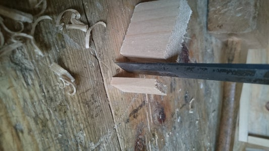 Making and Inserting the Dowels