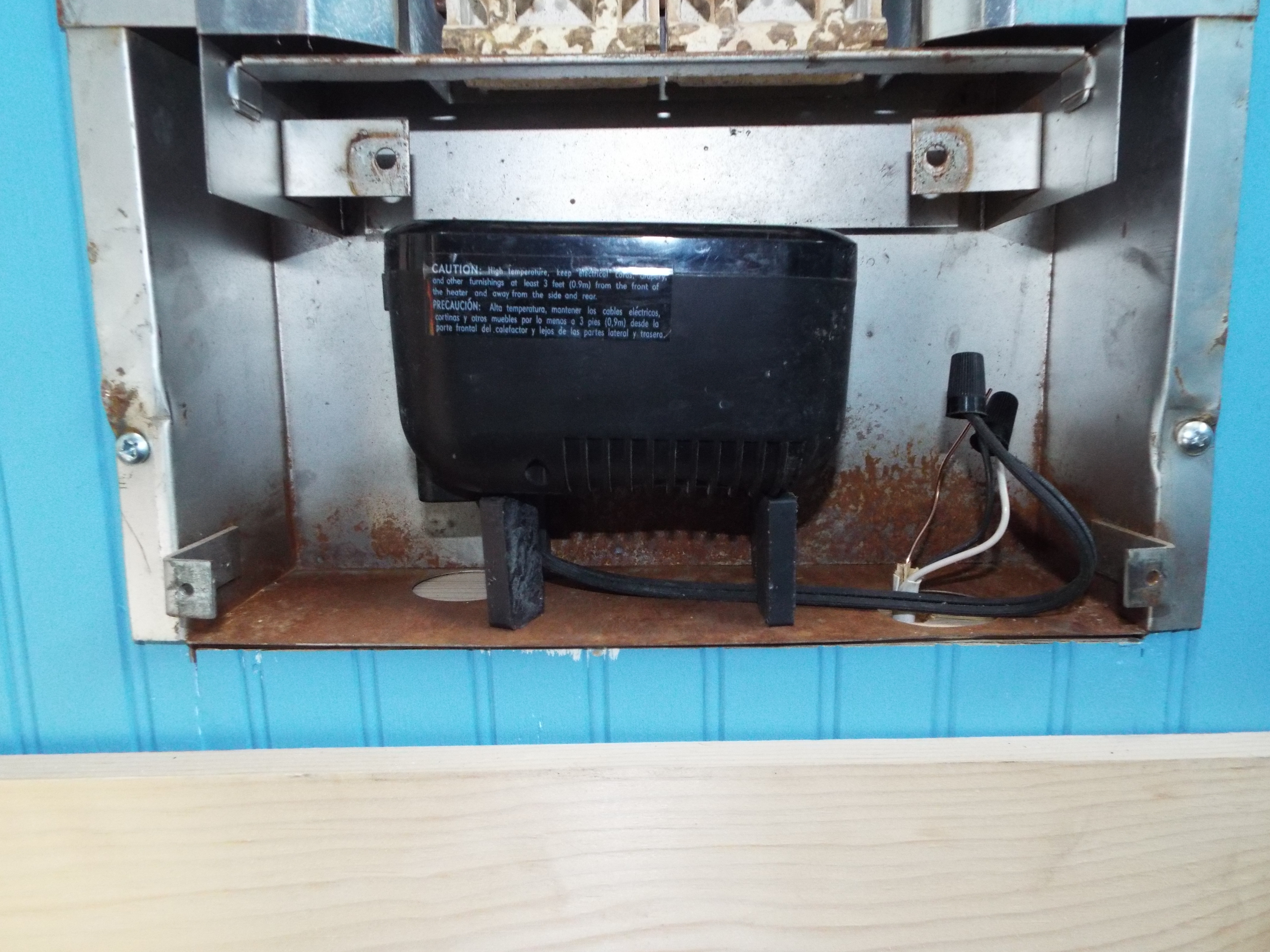 Picture of Install the Electric Heater