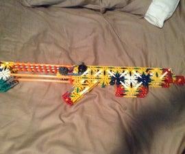 The Vortex A Knex Assault Rifle