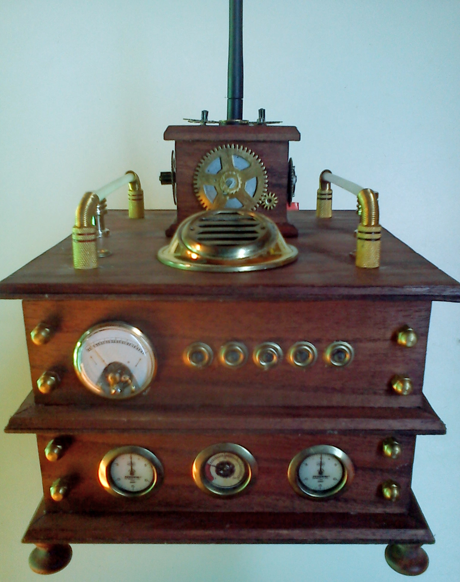 Picture of Steampunk Network Center