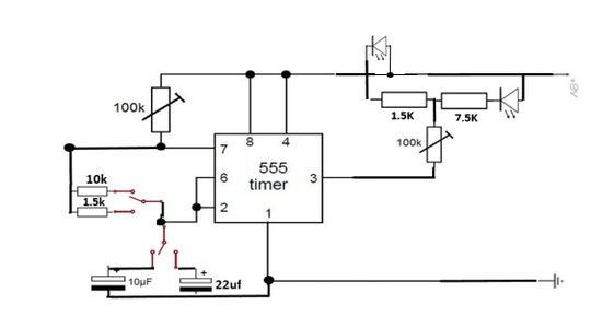 The Flashing LED Circuit