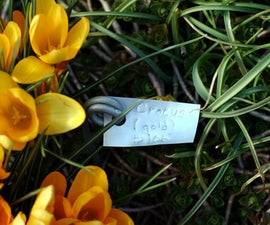 How to make durable plant markers