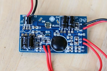Hack the Sound Recorder (removing the Button)