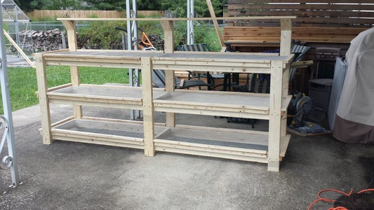 Greenhouse Growing Bench