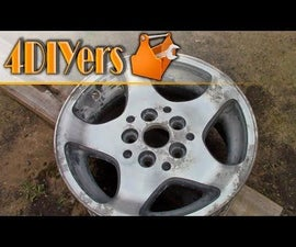 How to Remove the Paint or Clear Coat From Wheels
