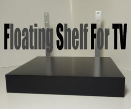 Floating Shelf For TV