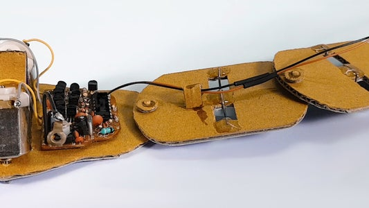 Attach Electronics to Snake