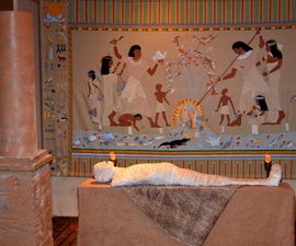 Egyptian Mummy's Tomb - Photo Booth Vignette