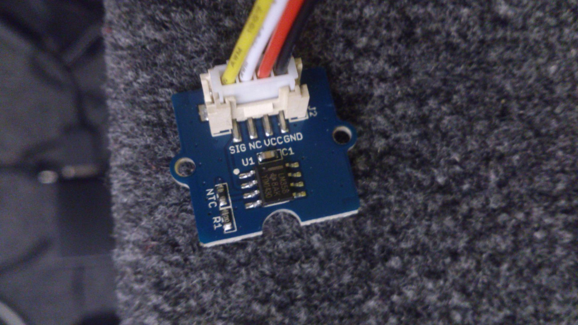 Picture of Sensors Integration