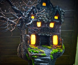 Paper Clay Haunted House!