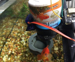 Feed Your Fish Flakes From Anywhere!