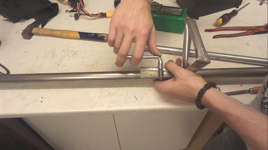 Manufacture of the Left Handle