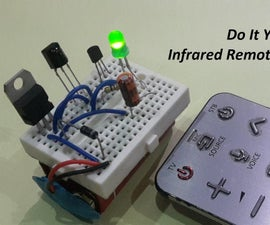 Infrared Remote Control Tester Using TSOP4838