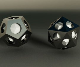 Dual Polyhedra In Autodesk Inventor
