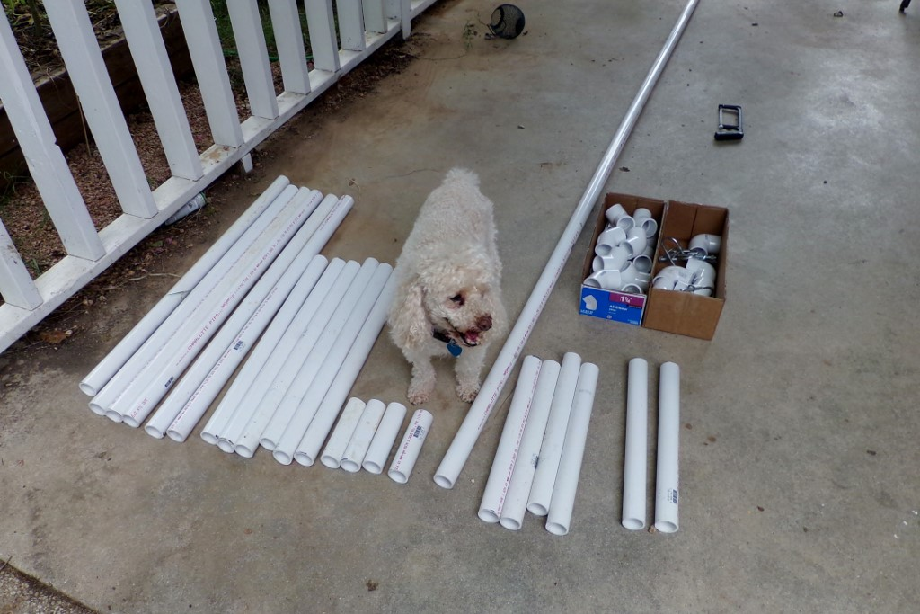 Picture of Buy the Supplies and Cut the PVC to Size