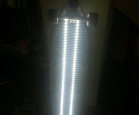 LED light strip Long Board