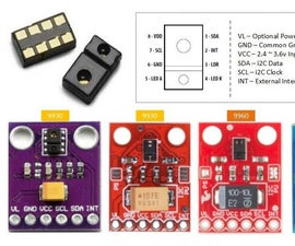 Wiring the APDS 9930 Ambient Light Sense / APDS 9960 RGB Gesture Sensor With Microcontroller