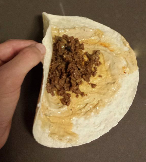 Picture of Rolling the Burrito