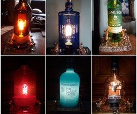Steampunk Bar Lamp