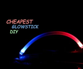 DIY LED Glow Stick