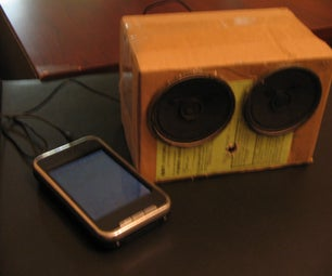 DIY Amplified Speakers for Your MP3 Player