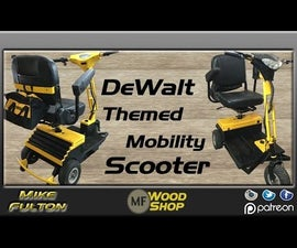 DeWalt Themed Mobility Scooter