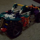 knex 4wd car/pick up truck