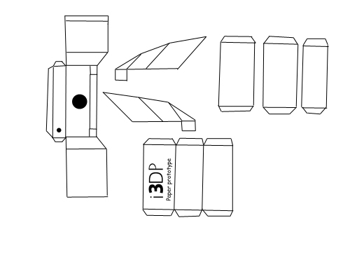 How to Construct a (paper Prototype) Multilayered Viewing Device for IPhone.(I3DG)